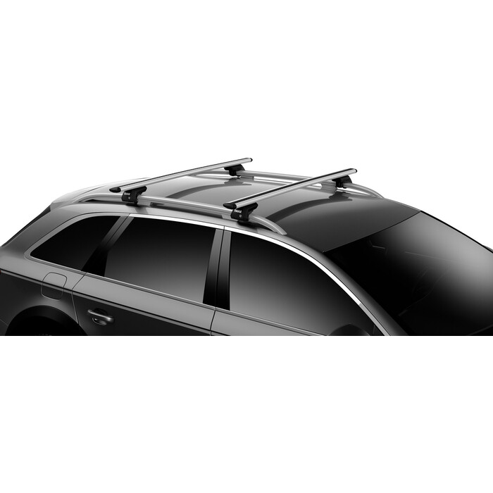 Багажник Thule WingBar EVO для CHEVROLET Matiz (Mk II) 5-dr Hatchback 05-09