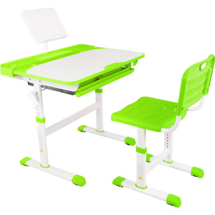 Парта-трансформер со стулом Капризун R8-green