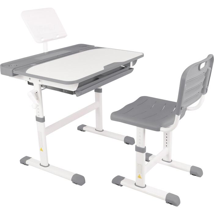 Парта-трансформер со стулом Капризун R8-gray