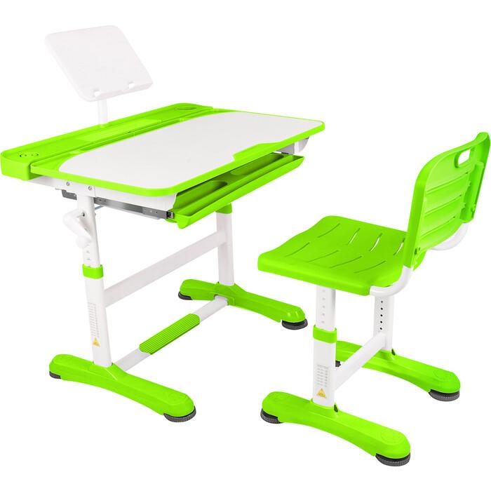 Парта-трансформер со стулом Капризун R8-1-green