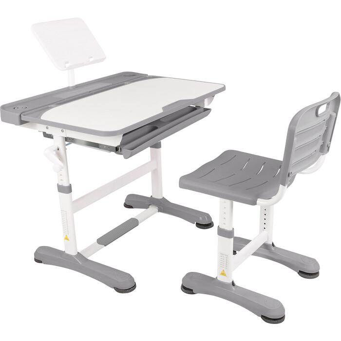 Парта-трансформер со стулом Капризун R8-1-gray