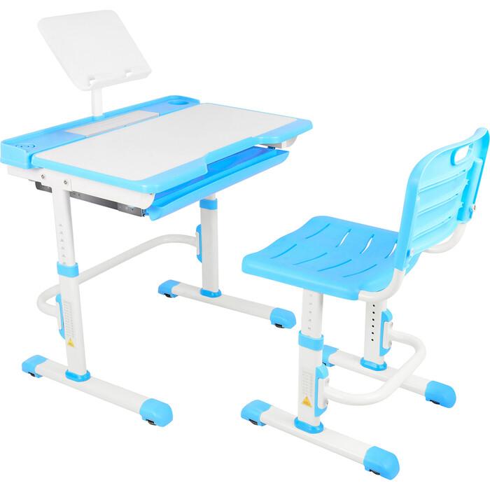 Парта-трансформер со стулом Капризун A7-blue
