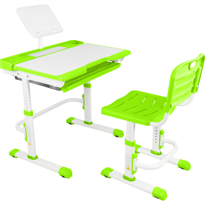 Парта-трансформер со стулом Капризун A7-green