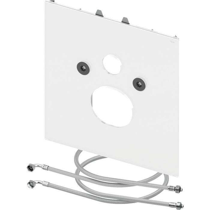 Нижняя панель TECE Lux для установки унитаза-биде one, белая (9650109)