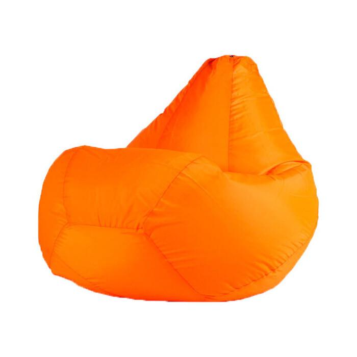 Кресло-мешок МВК Оксфорд XL 125x85 оранжевое КМ3680-МТ005