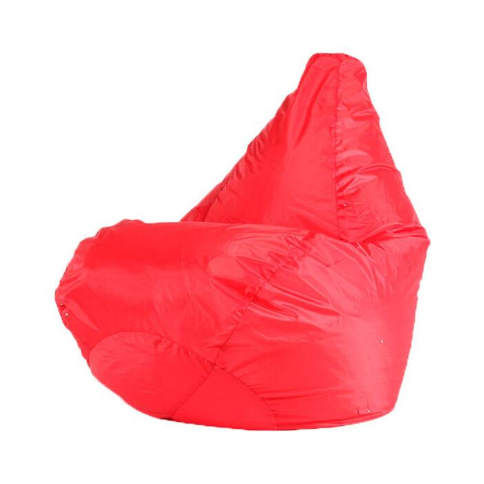 Кресло-мешок МВК Оксфорд L 80x75 красное КМ3679-МТ002