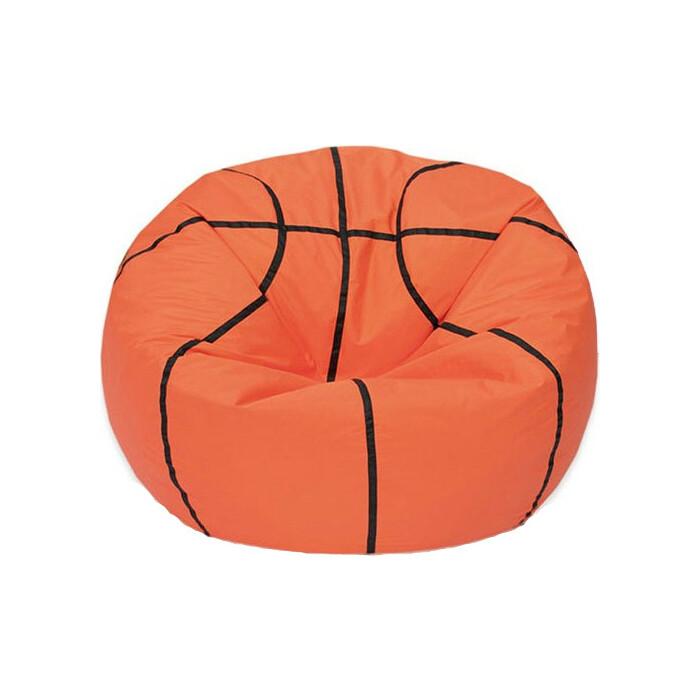 Кресло-мешок МВК Мяч баскетбольный оранжево-черное МБ675