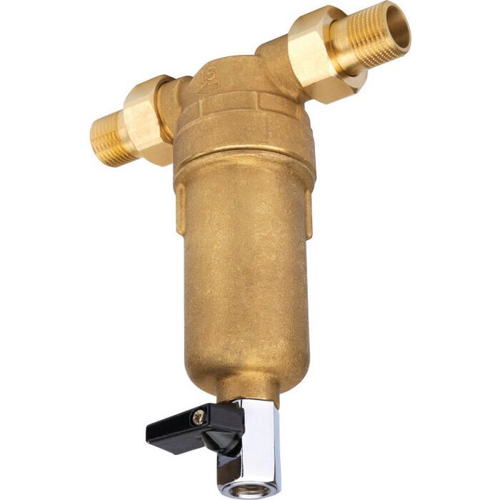Предфильтр Новая Вода A281 для горячей воды с промывкой