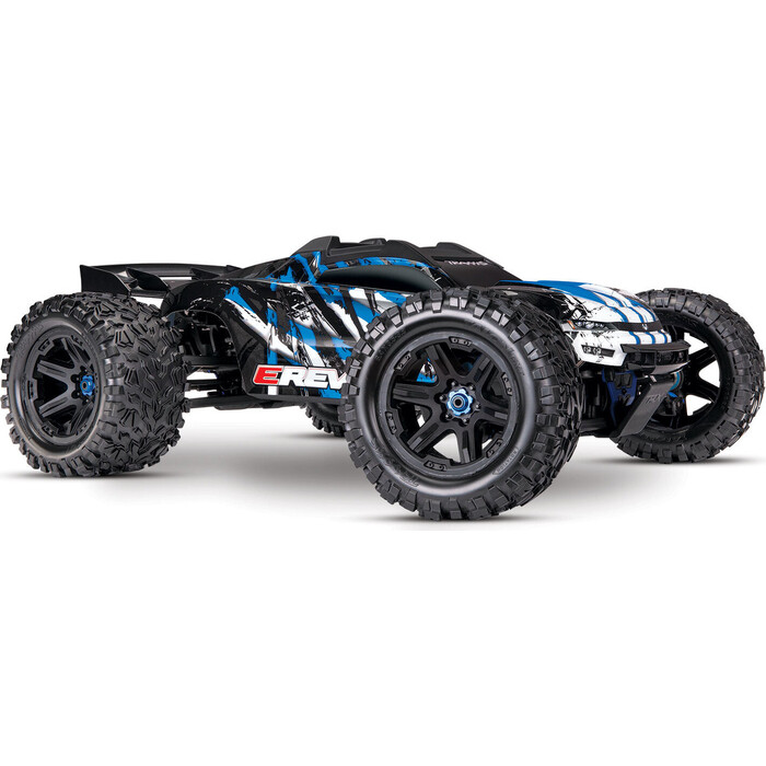 Радиоуправляемая машина TRAXXAS E-Revo VXL Brushless: 1:10 Scale 4WD Brushless Orange