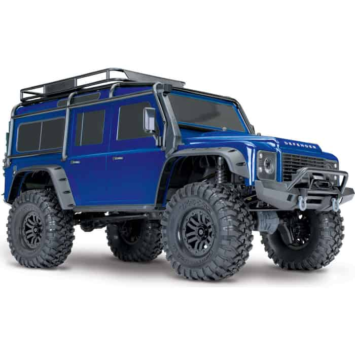 Радиоуправляемая машина TRAXXAS TRX-4 1:10 Land Rover 4WD Scale and Trail Crawler Blue