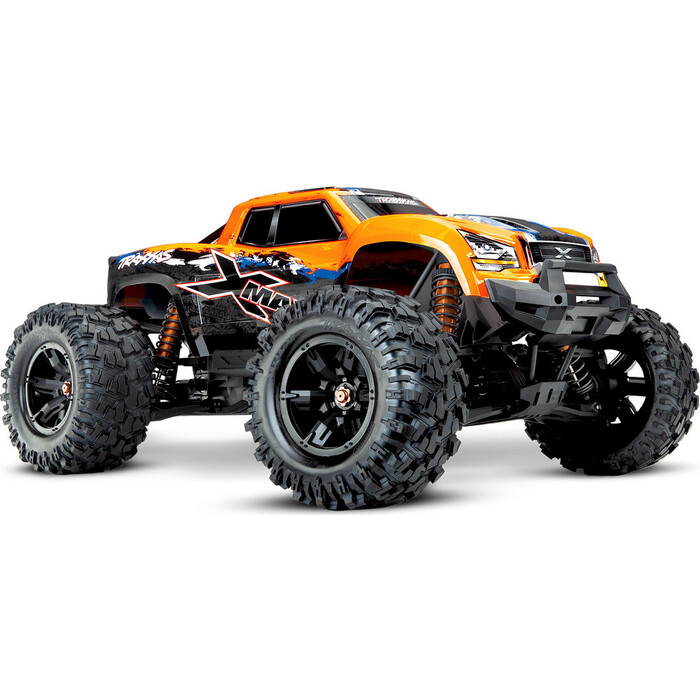 Радиоуправляемая машина TRAXXAS X-MAXX 1:5 4WD 8S Brushless TQi Ready to Bluetooth Module TSM Orange area rc wheel extenders for traxxas x maxx 1 5