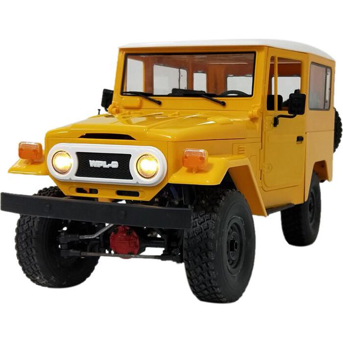 Конструктор внедорожник WPL 1/16 4WD электро - Военный джип KIT