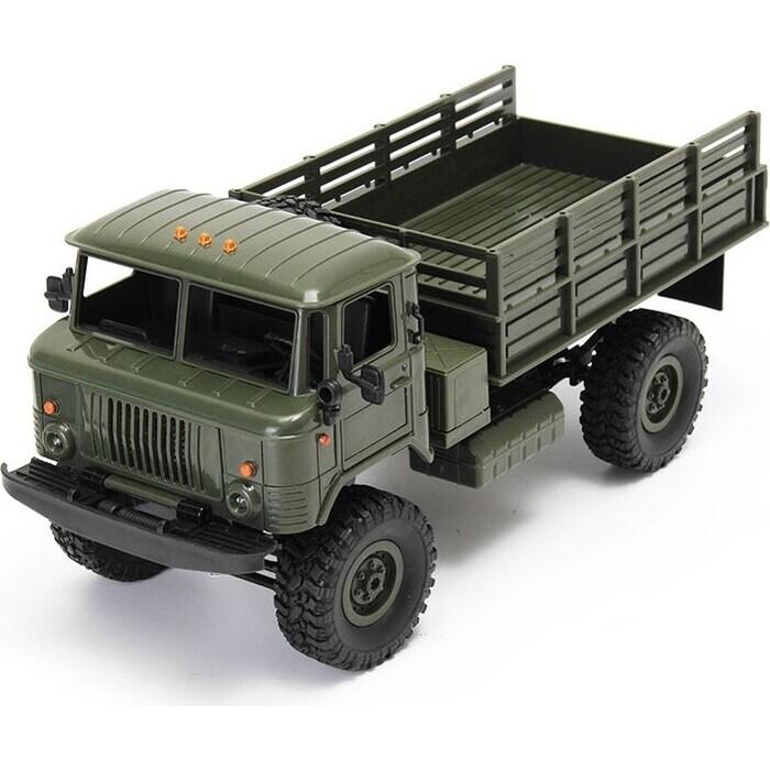 Конструктор внедорожник WPL 1/16 4WD электро - Offroad Truck KIT (набор для сборки)