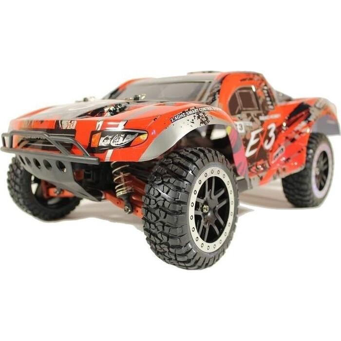 Радиоуправляемый шорт-корс Remo Hobby EX3 UPGRADE (красный) 4WD 2.4G 1/10 RTR
