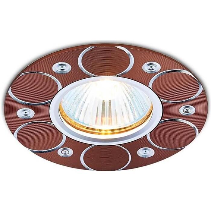 Светильник Ambrella light Встраиваемый Alum A808 AL/BR