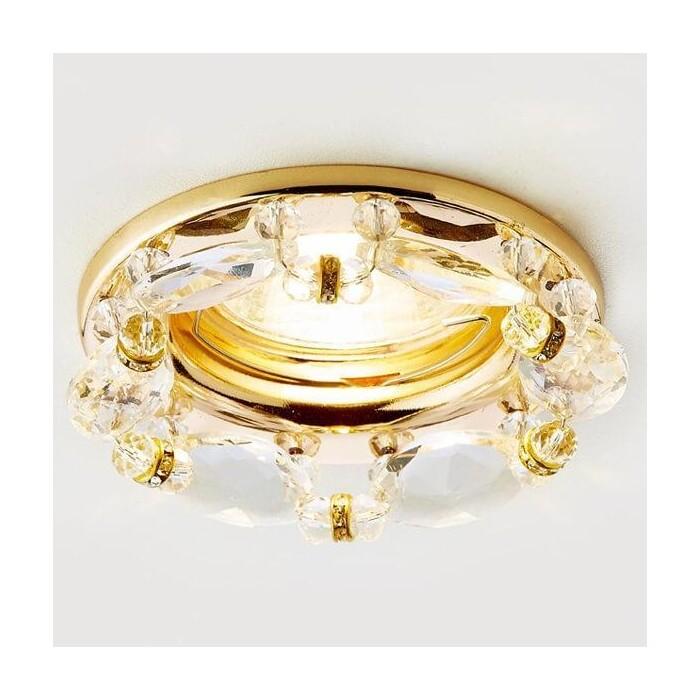 Светильник Ambrella light Встраиваемый Ceiling K212 CL/G
