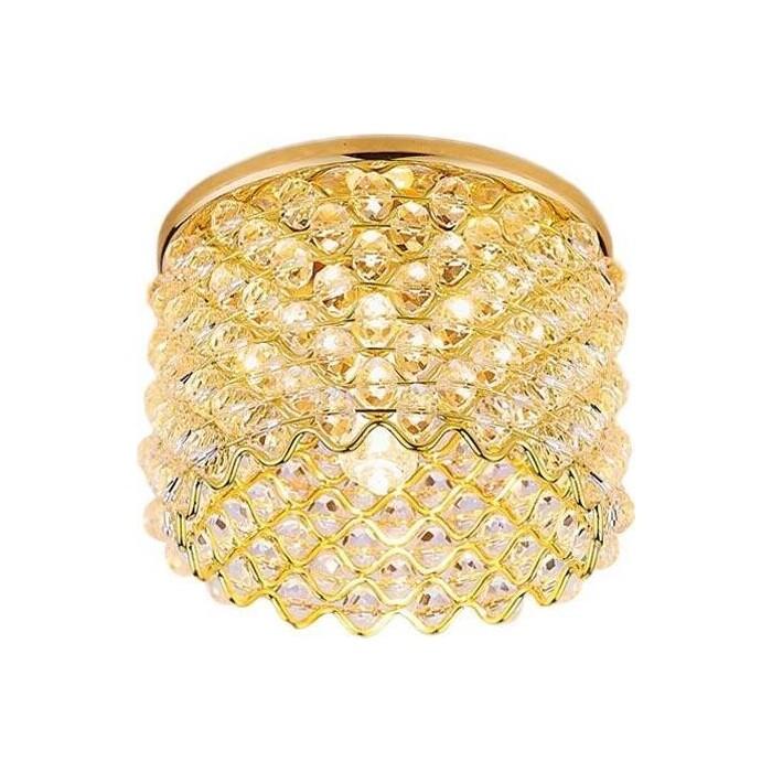 Светильник Ambrella light Встраиваемый Crystal D9060 G/CL ambrella встраиваемый светильник ambrella classic 104a sn g