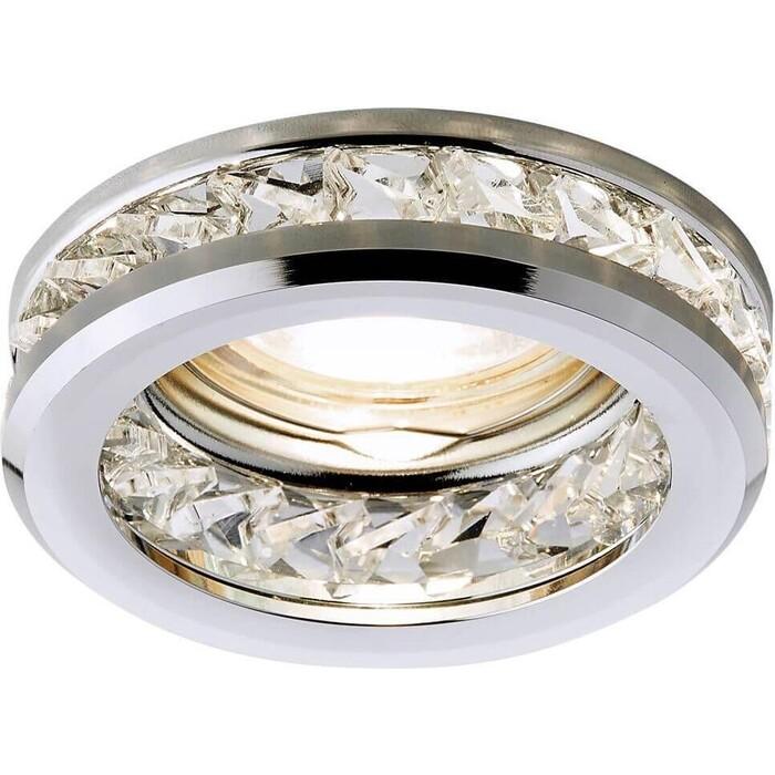 Светильник Ambrella light Встраиваемый Crystal K105 CL/CH
