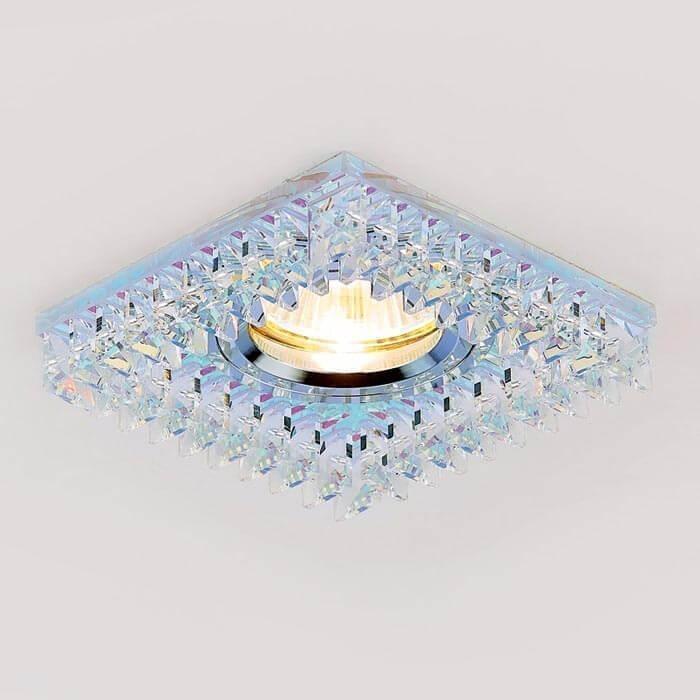 Светильник Ambrella light Встраиваемый Crystal K120 PR