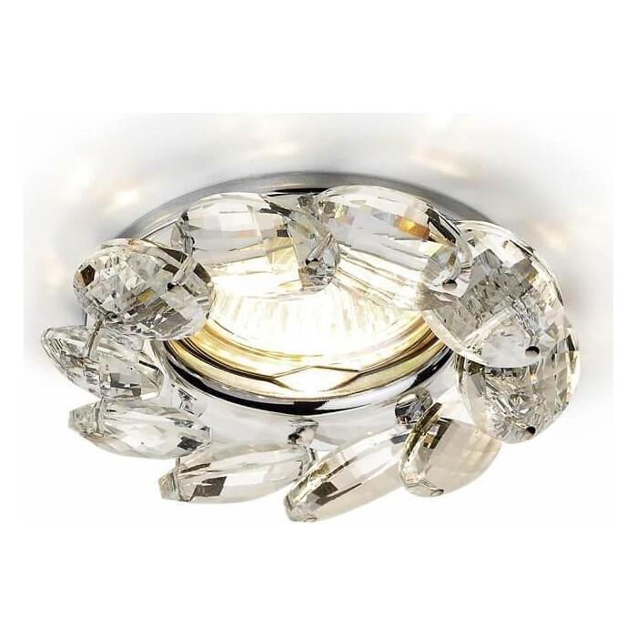 Светильник Ambrella light Встраиваемый Crystal K306 CL/CH