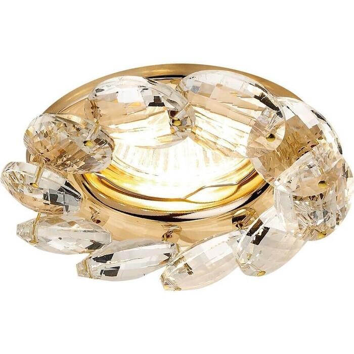 Светильник Ambrella light Встраиваемый Crystal K306 CL/G