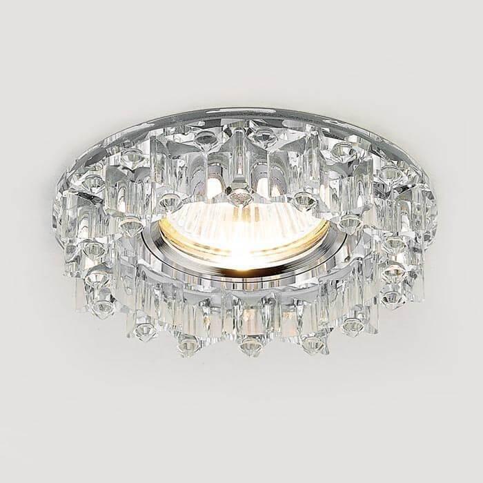 Светильник Ambrella light Встраиваемый Crystal K370 CH