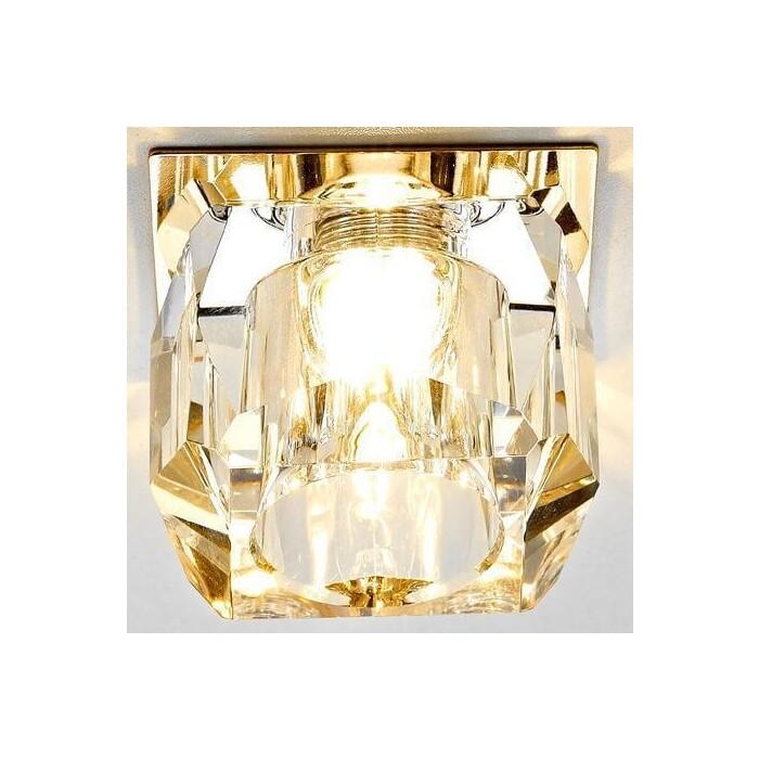 Светильник Ambrella light Встраиваемый Glass D1041 CL/G светильник fametto dls l127 2001 luciole chrome glass