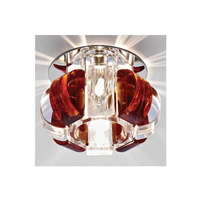 Светильник Ambrella light Встраиваемый Glass D1057 CL/TI/CH
