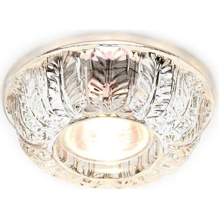 Светильник Ambrella light Встраиваемый Glass D6331 CL/CH