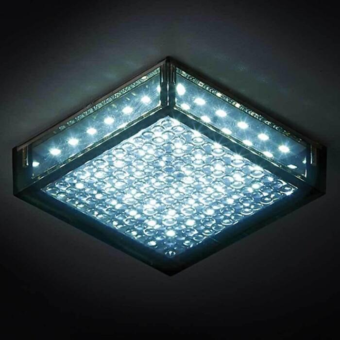 Светильник Ambrella light Встраиваемый светодиодный LED S150 BK 5W 4200K