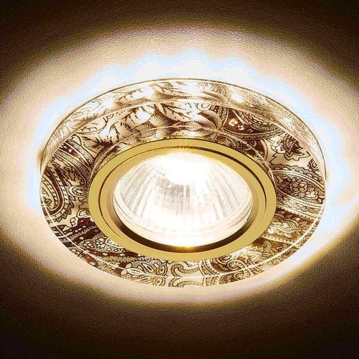 Светильник Ambrella light Встраиваемый светодиодный Led S223 WH/G/WA