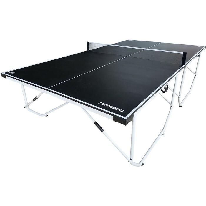 Теннисный стол DFC TORNADO Home Compact для помещения, синий, складной