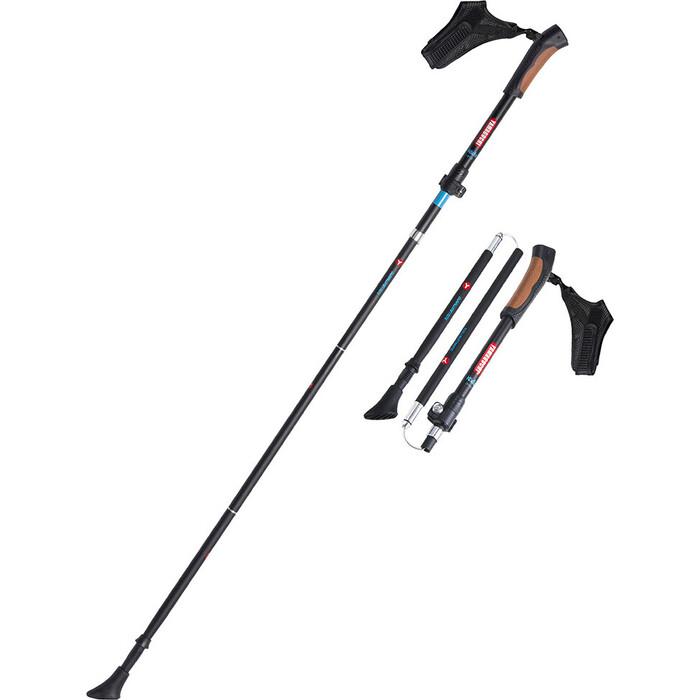 Палки для скандинавской ходьбы Yamaguchi Kodo (черные)
