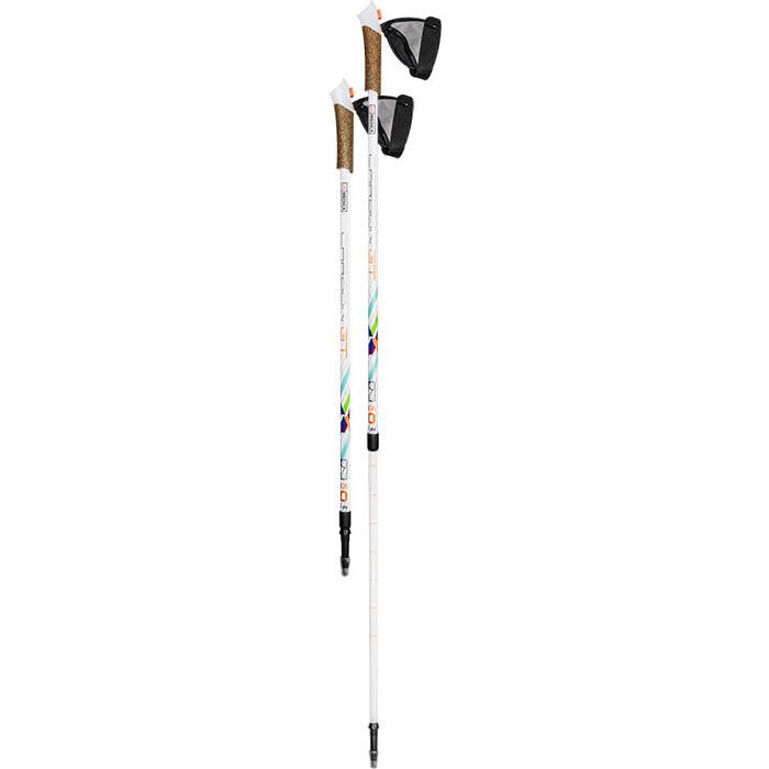 Палки для скандинавской ходьбы US MEDICA Carbon GT 2 секции (белые)