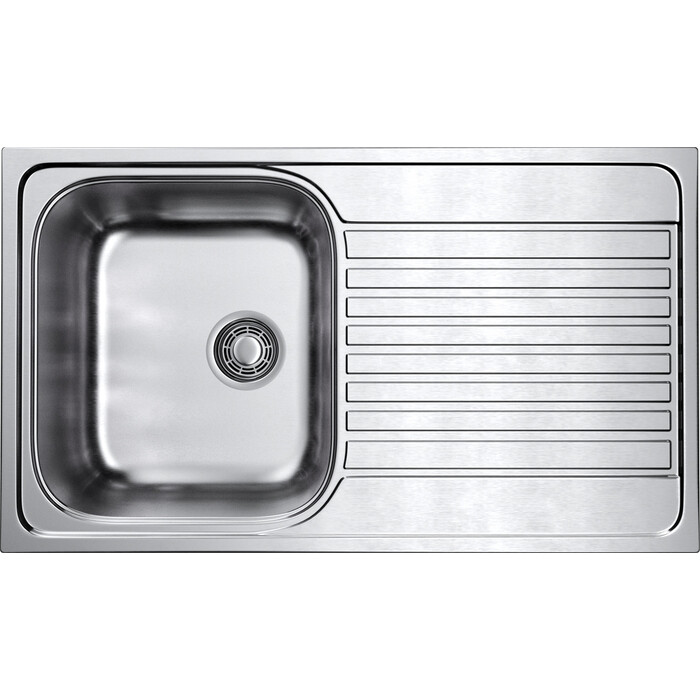 Мойка кухонная Omoikiri Kashiogawa 86-IN сталь (4993453)