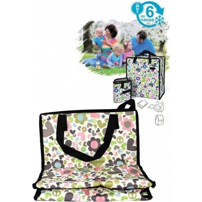 Фото - Сумка охлаждающая Bradex ФРИЗИ ИЗИ с гелевым наполнением, мультиколор сумка охлаждающая bradex фризи изи с гелевым наполнением мультиколор
