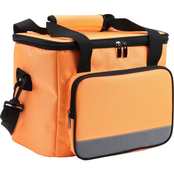 Сумка-холодильник Bradex TD 0672 на ремне 28x19x23.5см, цвет оранжевый