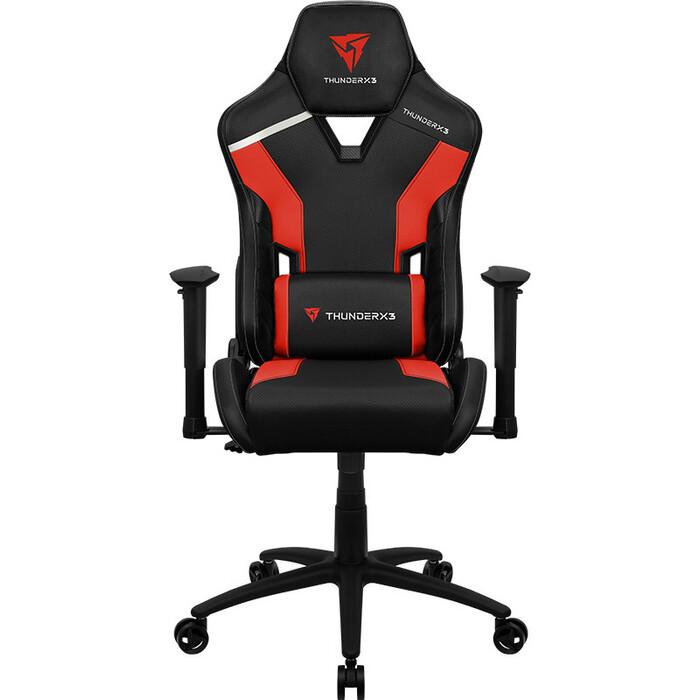 Кресло компьютерное игровое ThunderX3 TC3 ember red