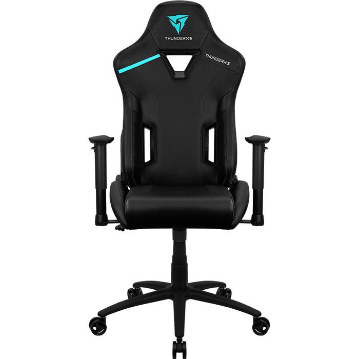 Кресло компьютерное игровое ThunderX3 TC3 jet black