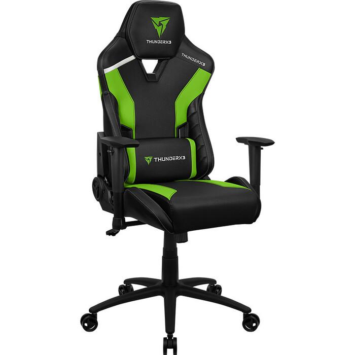 Кресло компьютерное игровое ThunderX3 TC3 neon green