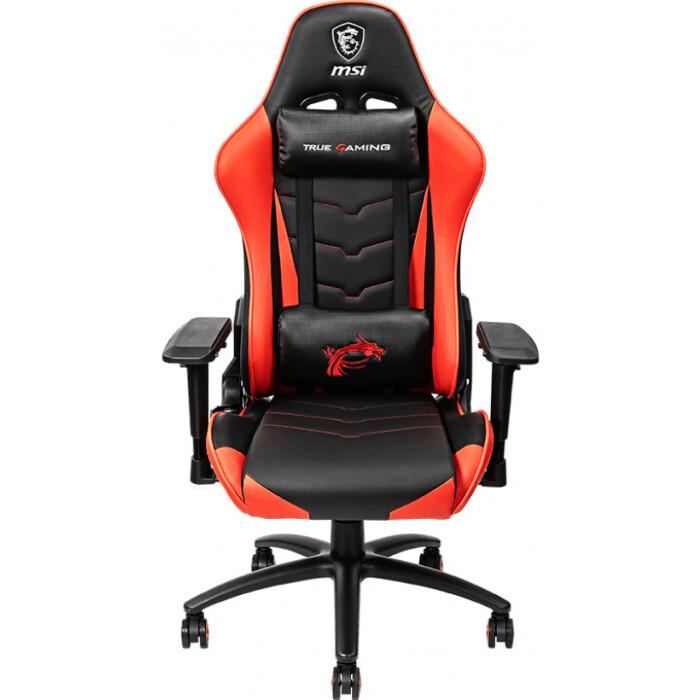 Кресло компьютерное игровое MSI Mag CH120 black-red