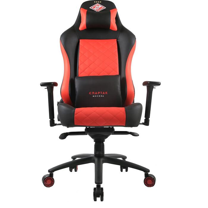 Кресло компьютерное игровое ZONE 51 Спартак легенда black-red