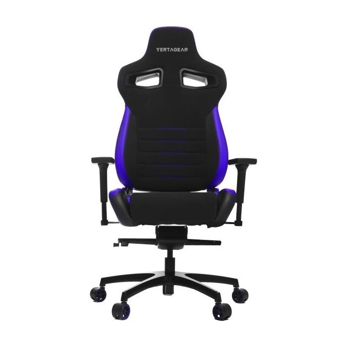Кресло компьютерное игровое Vertagear P-Line PL4500 black/purple LED/RGB Upgradable