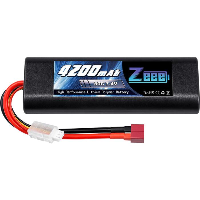 Аккумулятор Zeee Power 2s 7.4v 4200mah 50c
