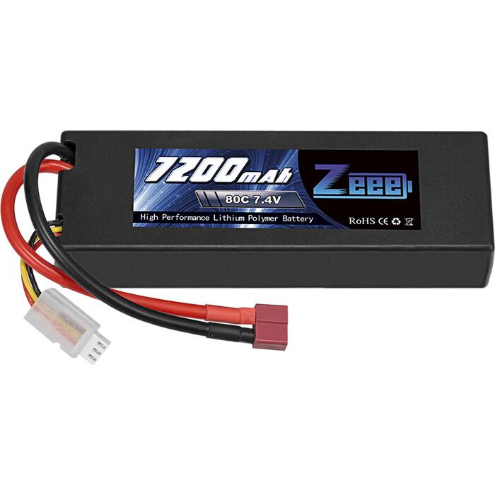 Аккумулятор Zeee Power 2s 7.4v 7200mah 80c