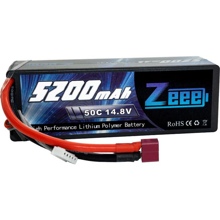 Аккумулятор Zeee Power 4s 14.8v 5200mah 50c