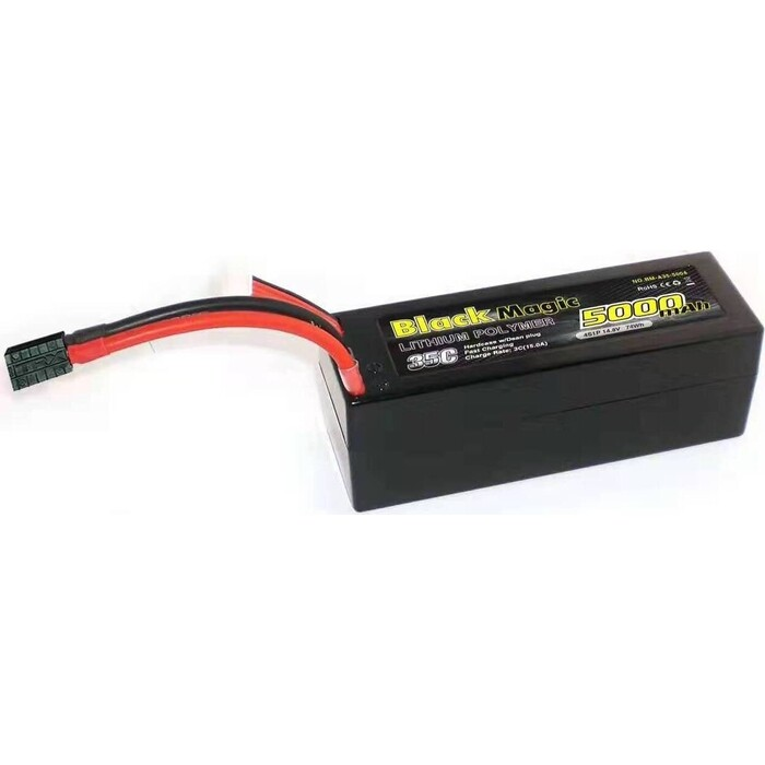 Аккумулятор Black Magic 35C/5000mah/14.8V ,4S1P(hardcase w/Traxxas Plug)