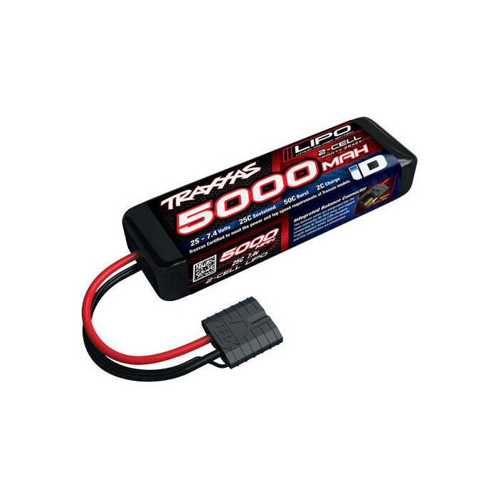 Аккумулятор TRAXXAS 5000mAh 7.4v 2-Cell 25C LiPo Battery