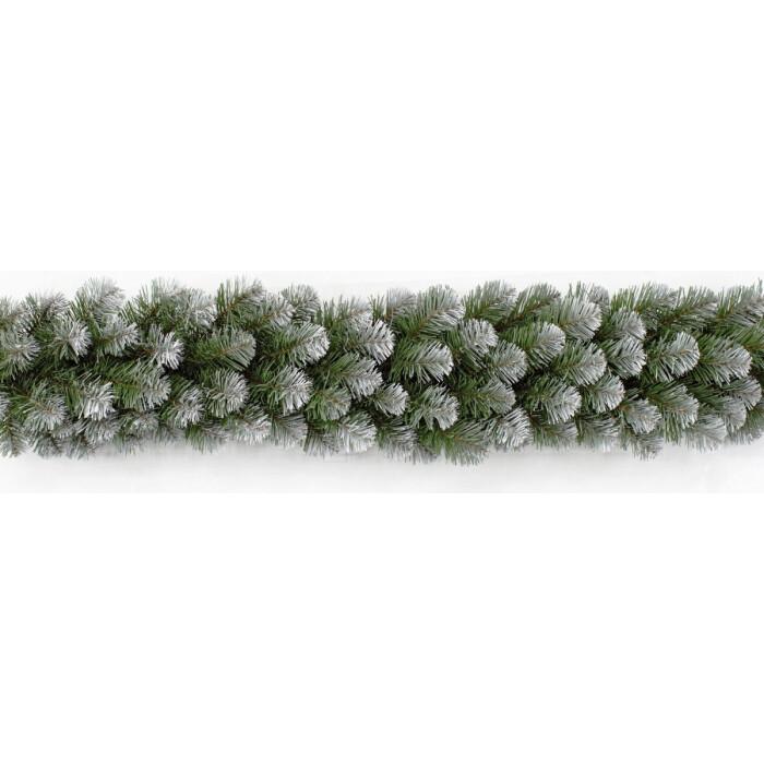 Гирлянда новогодняя Triumph Tree КОЛОРАДО 270*30 СМ ЗАСНЕЖЕННАЯ