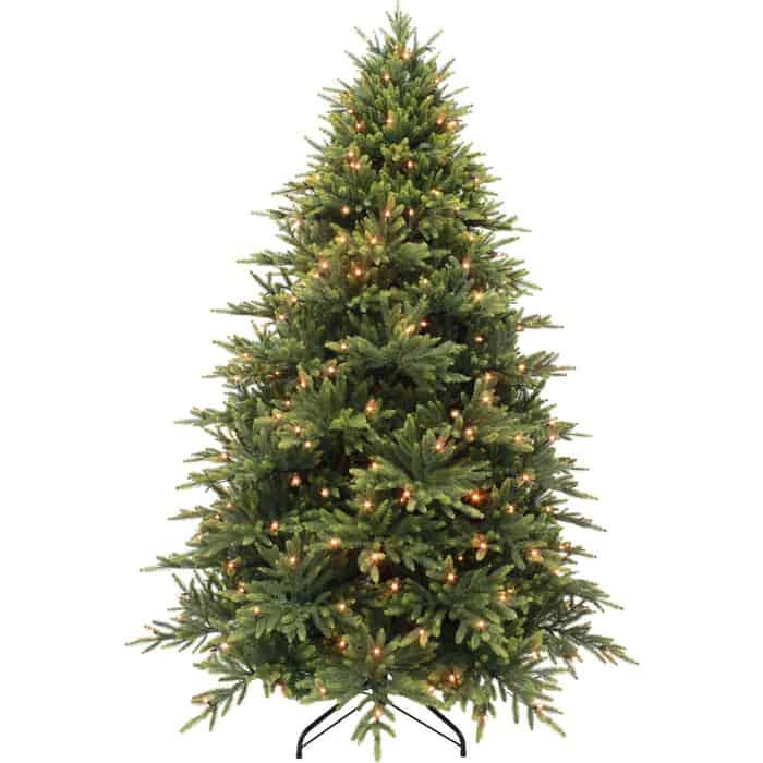 Елка искусственная Triumph Tree КОРОЛЕВСКАЯ ПРЕМИУМ 100% ЛИТАЯ 328 ЛАМП 215 СМ ЗЕЛЕНАЯ